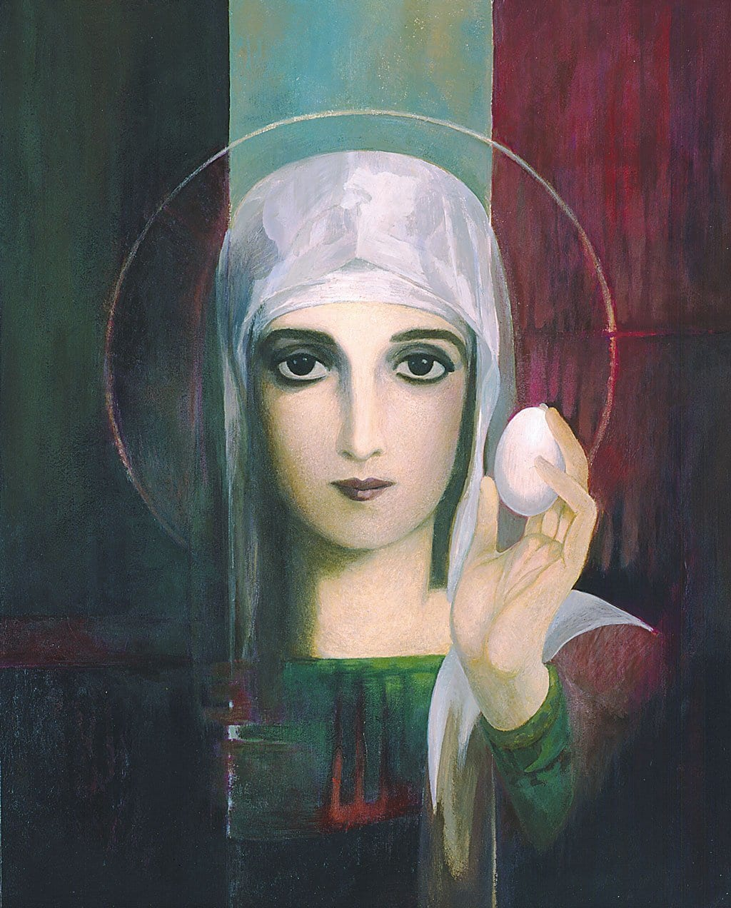 Mary Magdalene and the Whispered Egg