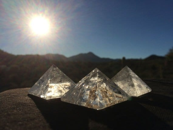 Whispered™ Meditation Crystal Pyramids